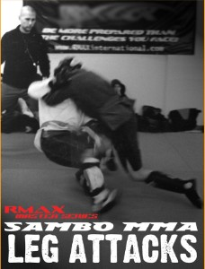 Sambo MMA Leg Attacks 2 DVD Set