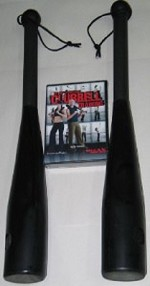 A Pair of 15lb CST Clubbells plus Encyclopedia of Clubbell Training 5 DVD Set