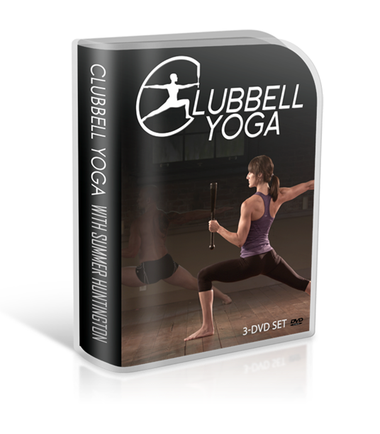 Clubbell Yoga 3 DVD Set